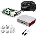Raspberry Pi 3+ Multimedia Kit (blanc)