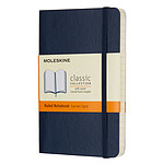 Moleskine Classic Soft Pocket Ruled Bleu