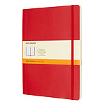 Moleskine Classic Soft XL Ruled Rouge