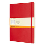 Moleskine Classic Soft Large Ruled Rouge