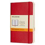 Moleskine Classic Soft Pocket Ruled Rouge