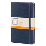 Moleskine Classic Hardcover Large Ruled Azul