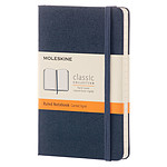 Moleskine Classic Hardcover Pocket Ruled Bleu