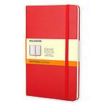 Moleskine Classic Hardcover XL Ruled Rojo