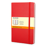 Moleskine Classic Hardcover Pocket Ruled Rouge