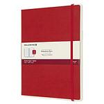 Moleskine Paper Tablet Hardcover XL Ruled Rojo