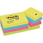 Post-it Bloc 100 feuillets 38 x 51 mm Energiques x 12