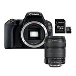 Canon EOS 200D + 18-135 IS STM + Kingston Canvas Select SDCS/16GB