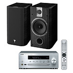 Yamaha MusicCast CRX-N470D Argent + Focal Chorus 605 Black Style