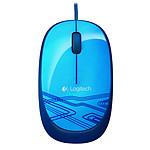 Logitech Corded Mouse M105 (Bleu)