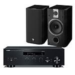 Yamaha MusicCast R-N303 Noir + Focal Chorus 605 Black Style