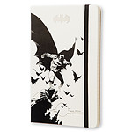 Moleskine Batman Ruled Large Blanc