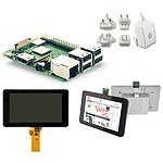 Raspberry Pi 3+ TouchScreen Kit (blanc)