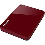 Toshiba Canvio Advance 4 To Rouge