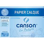 Canson Pochette calque satin 70g A4