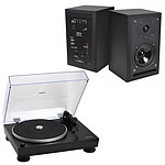 Audio-Technica AT-LP5 Noir + Eltax Monitor III BT Phono Noir