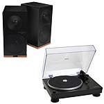 Audio-Technica AT-LP5 Noir + Tangent Spectrum X5 BT Phono Noir