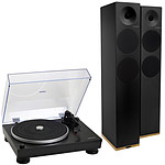 Audio-Technica AT-LP5 Noir + Tangent Spectrum X6 BT Noir