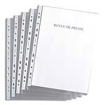 100 pochettes grainées perforées 11 trous A4 4.5/100ème