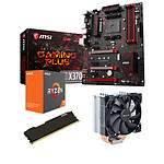 Kit Upgrade PC AMD Ryzen 7 1700X MSI X370 GAMING PLUS 8 Go
