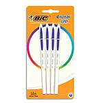 BIC Cristal Up 4 Bolígrafos Azul