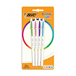 BIC Cristal Up 4 Stylos Fun Assortis