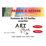 Art Plus Pocket Drawing Papel Grano Color (24 x 32)