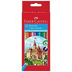 Faber-Castell Château - 12 Crayons Assortis