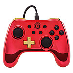 PowerA Nintendo Switch Chrome Wired Controller - Samus Aran (Metroid)