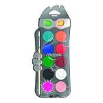 Maped Box 12 Gouache Color'Peps Gouache Tablets