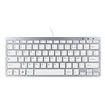 R-Go Compact Keyboard Blanc