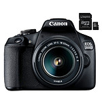 Canon EOS 2000D + EF-S 18-55 mm IS II + Kingston Canvas Select SDCS/16GB
