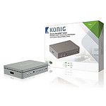 König Switch HDMI 4 puertos