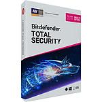 Bitdefender Total Security 2019 - Licence 2 Ans 10 Appareils