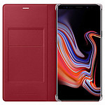 Samsung Flip Wallet Rouge Galaxy Note 9