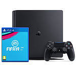 Sony PlayStation 4 Slim (1 To) + FIFA 19
