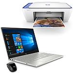 HP Pavilion 15-cs0024nf + DeskJet 2630 + X3000 Noir