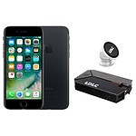 Apple iPhone 7 128 Go Noir + LDLC Power Bank QS10K + Auto S1