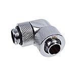 Alphacool Eiszapfen 13/10 mm Racor giratorio de 90° de compresión