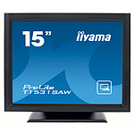 "iiyama 15"" LED Tactile onde accoustique - ProLite T1531SAW-B5"