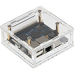 JOY-iT boîtier pour Banana Pi M2+ (transparent)