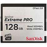 SanDisk Carte mémoire Extreme Pro CompactFlash CFast 2.0 128 Go