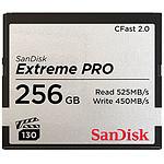 SanDisk Carte mémoire Extreme Pro CompactFlash CFast 2.0 256 Go