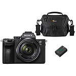 Sony Alpha 7 III + 28-70 mm + Lowepro Nova 160 AW II + Sony NP-FZ100