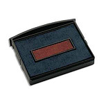 COLOP Set de 5 recambios bicolor azul y rojo E/2100/2