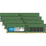 Crucial DDR4 128 Go (4 x 32 Go) 2933 MHz ECC Registered CL21 DR X4