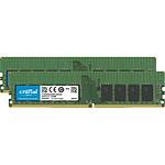 Crucial DDR4 32 Go (2 x 16 Go) 2933 MHz ECC Registered CL21 SR X4