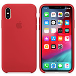Apple Coque en silicone (PRODUCT)RED Apple iPhone Xs