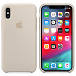 Apple Coque en silicone Gris Sable Apple iPhone Xs