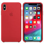 Apple Coque en silicone (PRODUCT)RED Apple iPhone Xs Max